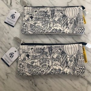 🧨SOLD🧨 l'occitane canvas toiletry make up bag -